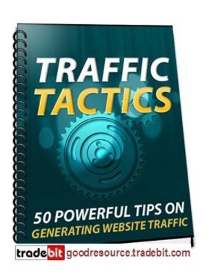 Product picture *New* 50 Powerful Traffic Tactics with Master Resale Rights
