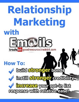 Product picture *New* Relationship Marketing with E-mails