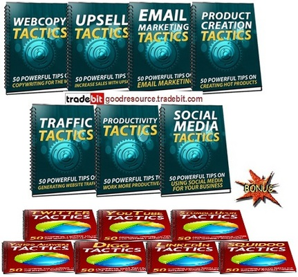 Product picture *New*  350 Sales Marketing Tactics Mrr + Bonu$