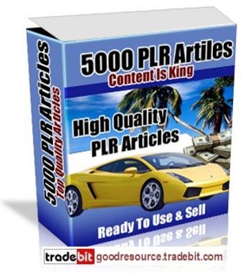 Product picture *New* 5000 Plr Articles with Plr + Bonus
