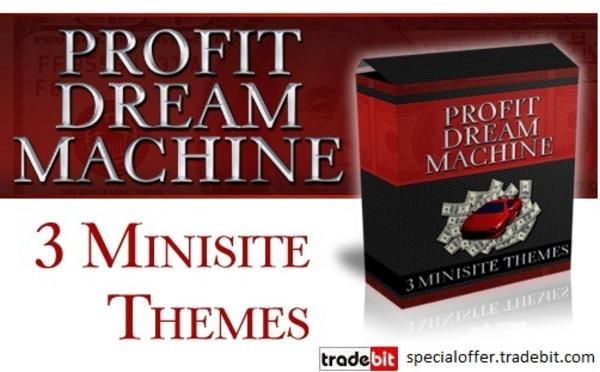 Product picture *new* Profit Dream Machine PLR