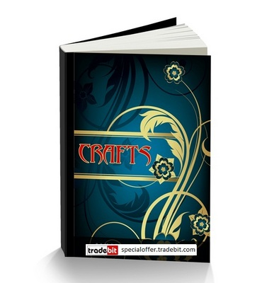 Product picture *New* Crafts Tutorials with Private Label Rights