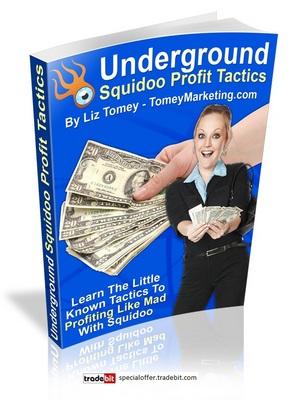 Product picture *New* Underground Squidoo Profit Tactics with Mrr
