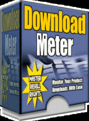 Product picture ** NEW** Download meter Pro with MRR (Master Resell Rights)