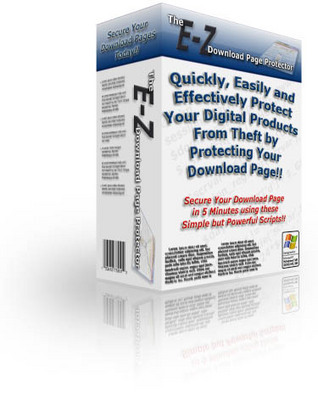 Product picture *NEW* E-Z Download Page Protector MRR (Master Resale Rights)