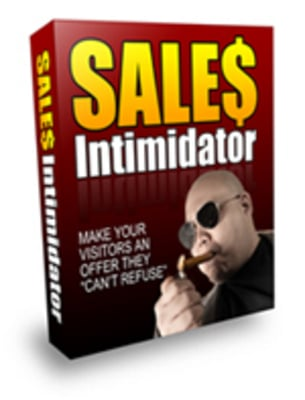 Product picture *NEW* Sales Intimidator Script with PLR Private Label Rights